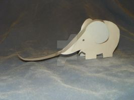 Elephant (Side) by Gir-of-Spades