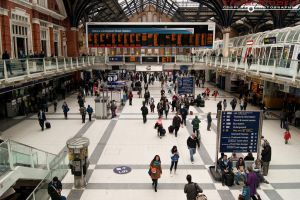 Searching at Liverpool Street 6 by TPJerematic