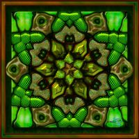 20141117-Green-Goo-Hex-Flower-v11 by quasihedron