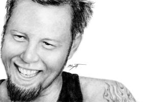 James Hetfield III by AnastasiumArt