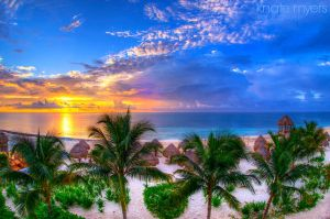 Caribbean Sunrise by k-n-8