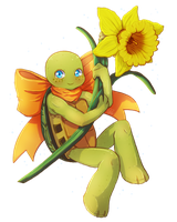 Spring Turtle by CutieClovers