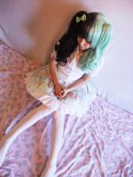 Mint Lolita by Pastel-Ai