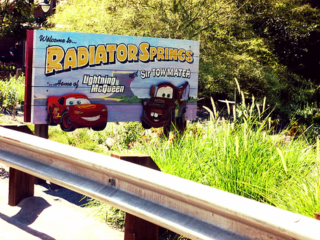 Welcome to Radiator Springs by DreamInColorz