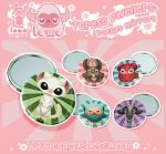 The Forest Dwellers - Art Pocket Mirrors by TomodachiIsland