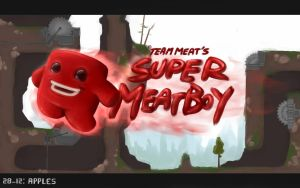 The Super Meat Boy by Apples-Malus