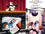 Rainbow Dash Radicalness Competition Sweater by penniavaswen