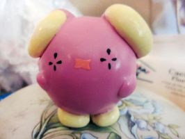 Whismur figure by MrsMuffet