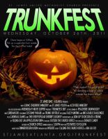Trunkfest 2011 Flyer by Treybacca