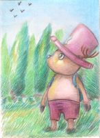 ACEO #1 Tony Tony Chopper - One Piece by Amer97