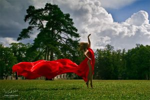 Dancing wind by Vitaly-Sokol
