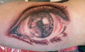 Dominiks Eye by tattoomary