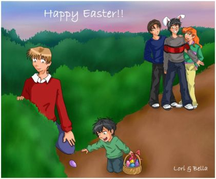 James, The Easter Bunny by irishgirl982