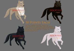 Adoptables all adopted by Sxania