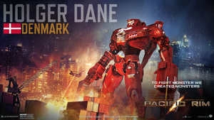 Pacific Rim Jaeger: Holger Dane by DragonKnark