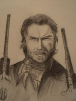 clint eastwood by Lukeforadventure