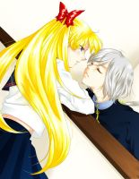 Will you kiss me? by uraasa