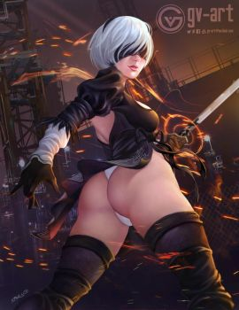 2B NIER by gv-art