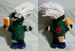 Little Kakashi Amigurumi by LeafyWildFlower