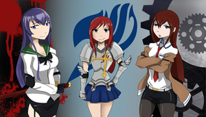 Steins Fairy Tail of the Dead by flygerXamber
