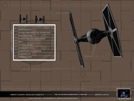 TIE fighter-Specifications by Canduterio