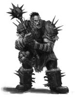 Orc by angel5art