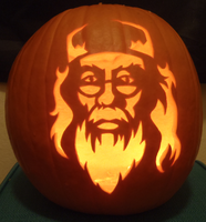Dumbledore Pumpkin Light by johwee