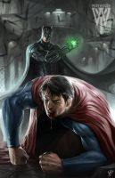 Batman vs superman by wizyakuza