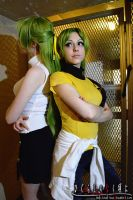 Higurashi No Naku koro Ni Cosplay: Got Your Back by Redustrial-Ruin