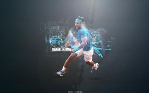 Rafael Nadal - Wallpaper by kewinn
