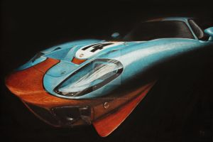 Gulf GT40 by GoodieDesign