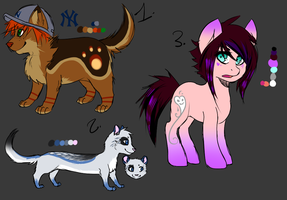 POINT BIDDING ADOPTABLES by MistyMochi
