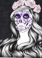 Sugar Skull by Lamorien