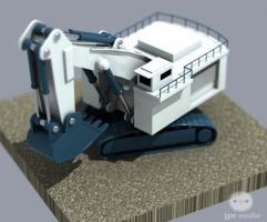 Tiny Steam Shovel by Dbl-Dzl