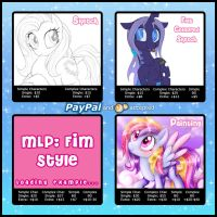 Digital Commission Sheet by AlicornParty
