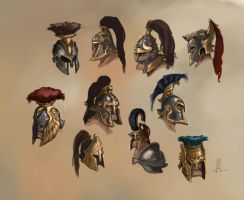 helmet concepts by TheBeke