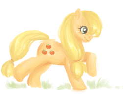 Applejack by Emizu
