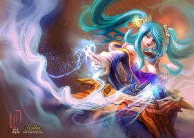 Sona's  Cresendo! by DreadJim