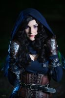 Yennefer alternative look by kasshi69