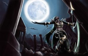 Diana Scorn of the Moon, League of Legends skin