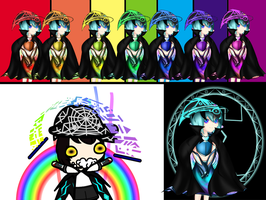 8 Colored Hue(mor) by chromatech