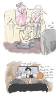 Cabin Pressure and London Olympics by kkbook
