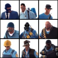 TF2 team blue by biggreenpepper