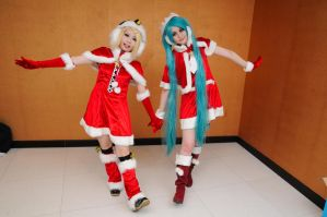 merry christmas vocaloid2 by Asuka10