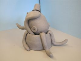 Clay the Octopus: View 2 by ShaddyShad