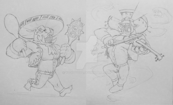 Orc Mariachi Designs by Yo-yoyoyo