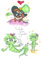 Wander and Mossy woy by Kittychan2005