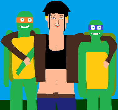 Hamato Family portrait: Another redo by DanielBenner214