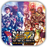 SSFIV Arcade Edition Game Icon by Wolfangraul