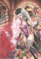 Sindel Kickass by DesertoMental
